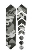 AMS Naklejki ochronne Honeycomb Frame Guard