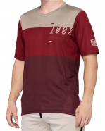 100% - Jersey AirMatic Brick Dark Red