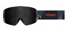 Tripout Gogle TRX Black