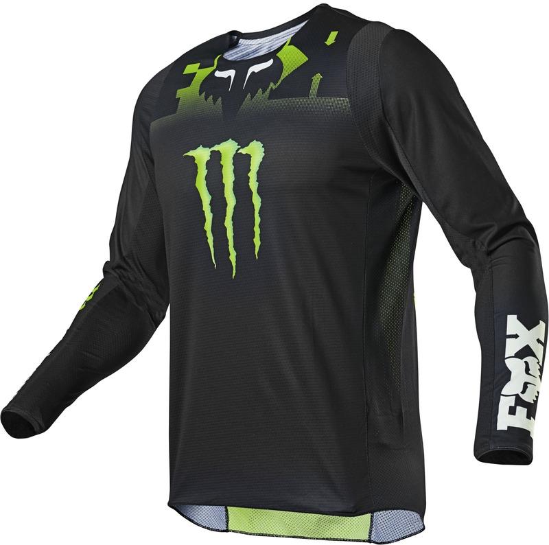 FOX Jersey 360 Monster Black