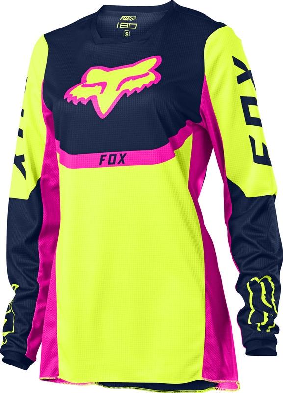 FOX Jersey 180 Voke Yellow Lady