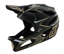 Troy Lee Designs - Kask Stage Stealth Ropo Green Gold MIPS®