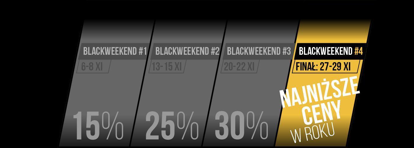 BLACK WEEKEND 4-4 20 info