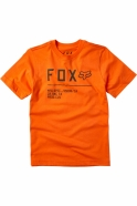 FOX - T-shirt Non Stop Orange Flame Junior