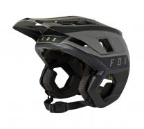 FOX - Kask Dropframe Pro Black Stripe MIPS