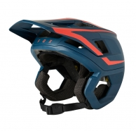 FOX - Kask Dropframe Pro Orange Dark Indigo MIPS