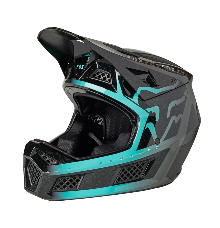 FOX Kask Rampage PRO Carbon Cali Teal