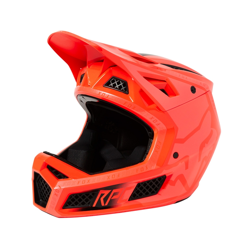 FOX Kask Rampage PRO Carbon Repeater Atomic Punch