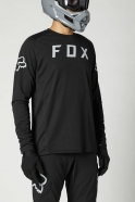 FOX - Jersey Defend Black LS