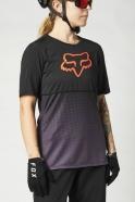 FOX - Jersey Flexair Black/Purple SS Lady