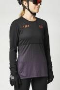 FOX - Jersey Flexair Black/Purple Lady