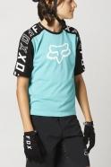 FOX - Jersey Ranger Dr Teal SS Junior