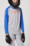 FOX - Jersey Defend LS Steel Grey Junior