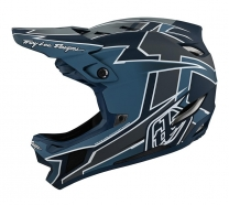 Troy Lee Designs - Kask D4 Stealth Gray MIPS®