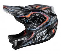 Troy Lee Designs - Kask D4 CF Lowrider Gray