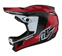 Troy Lee Designs - Kask D4 CF Corsa SRAM Red