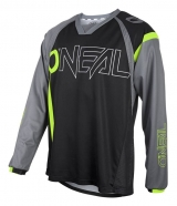 O'neal - Jersey Element FR Hybryd Black Neon Yellow