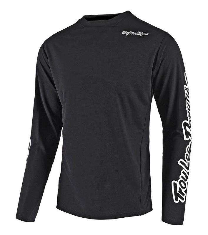 Troy Lee Designs Jersey Sprint Solid Black Junior