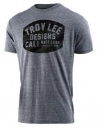 Troy Lee Designs - T-shirt Blockworks Camo Vintage Gray Snow