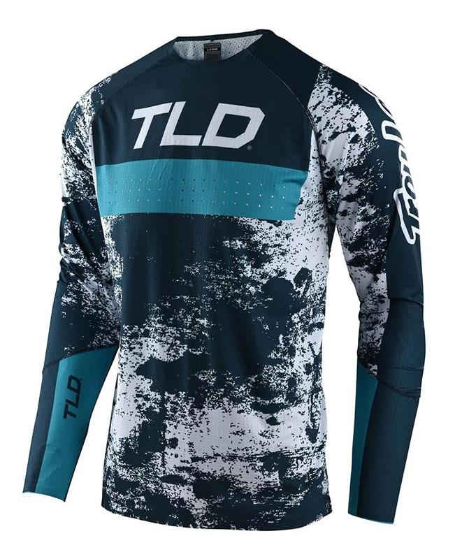 Troy Lee Designs Jersey Sprint Ultra Grime Marine Blue Bird