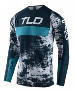 Troy Lee Designs - Jersey Sprint Ultra Grime Marine Blue Bird