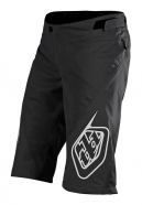Troy Lee Designs - Spodenki Sprint Solid Black Youth