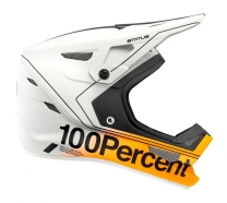 100% - Kask Status Carby Silver