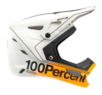100% - Kask Status Carby Silver Junior