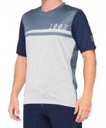 100% - Jersey AirMatic Steel Blue Grey
