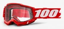 100% - Gogle Accuri 2 Enduro Moto szyba przeźroczysta podwójna