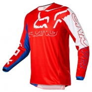 FOX - Jersey 180 Skew White/Red/Blue Junior
