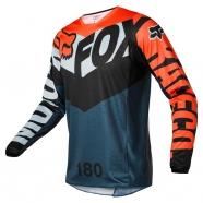 FOX - Jersey 180 Trice Grey/Orange