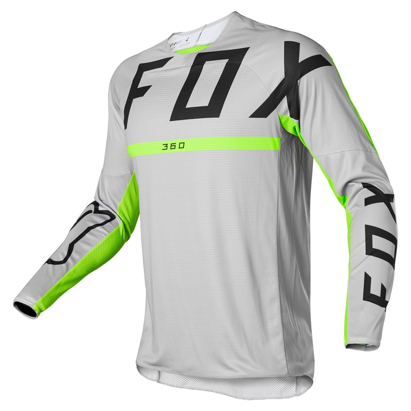 FOX Jersey 360 Merz Steel Grey