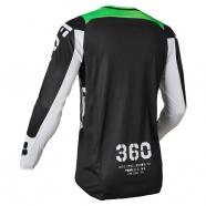 FOX Jersey 360 Nobyl Black/White