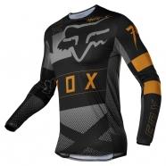 FOX - Jersey Flexair Riet Black