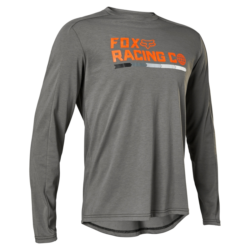 FOX Jersey Ranger Dr Race Co Dark Grey