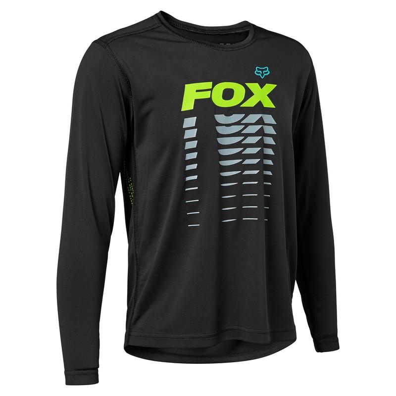 FOX Jersey Ranger Black Junior