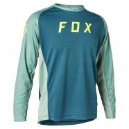 FOX - Jersey Defend LS Light Blue Junior