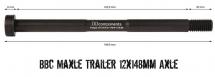 BB Components - Oś piasty Maxle Trailer 12x148mm Thru Axle