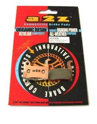 A2Z Klocki do hamulców Shimano XTR/XT/SAINT/LX/HONE/DEORE BR-M965 /M966/M800/M765/M755/HONE M601/M585/M545/M535+ AZ-630S.