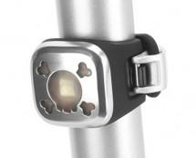 Knog - Lampka pozycyjna Blinder 1 Skull USB tył