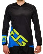Foog Wear - Jersey Enduro Blue Lime [2014]
