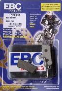 EBC - Klocki do hamulców Avid X0, X9, X7 Trail, Guide [CFA633 Green]