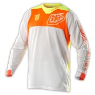 Troy Lee Designs - Jersey SE Pro Corse White Orange [2015]