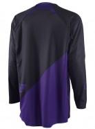 ONE Industries Jersey Gamma Solid Black Purple [2015]