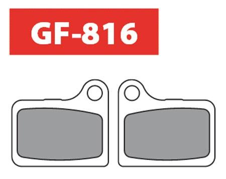 Goldfren Klocki hamulcowe Shimano Deore/BR-901C Naxave BR-M555 Hydraulic [816-DS]