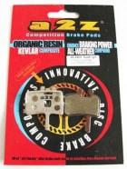 A2Z - Klocki do hamulców Avid Juicy 7/ Juicy 5 AZ-290A Silver