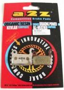 A2Z - Klocki do hamulców Shimano XTR/XT/SAINT/LX/HONE/DEORE BR-M965 /M966/M800/M765/M755/HONE M601/M585/M545/M535+ AZ-630A Silver