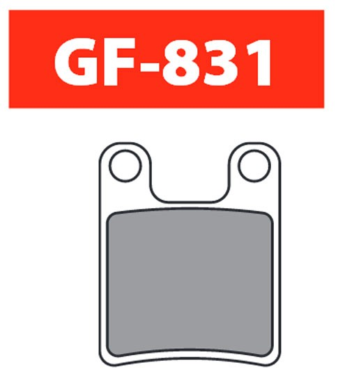 Goldfren Klocki hamulcowe Hope 2 piston [831-DS]