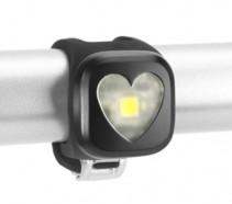 Knog - Lampka pozycyjna Blinder 1 Heart USB przód